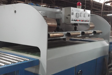 Panel pressing machine
