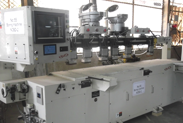 Drilling and dowel machine
